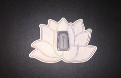 Namaste Flower Design Silly Patch