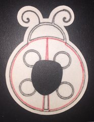 Lady Bug Animas® Insulin Pump Infusion Site Silly Patch