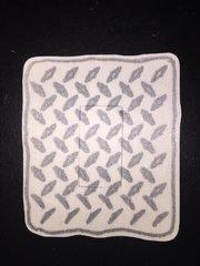 Diamond Plate Design Dexcom® Sensor Silly Patch