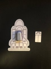 Spaceship Design Silly Patch