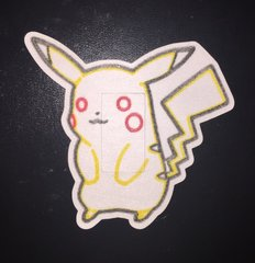 Pikachu Design Silly Patch