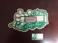 T1D Train Design Dexcom® Sensor Silly Patch
