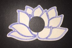Namaste Flower Design Silly Patch for Medtronic minimed-670g Artificial Pancreas System Infusion Site