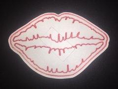 Kiss Lips Design Dexcom® SIlly Patch