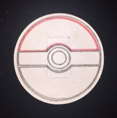 Pokeball Design Silly Patch