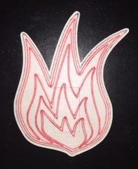 Flame Design Dexcom® Silly Patch