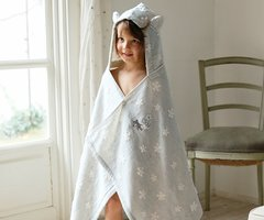 Bath Time Hoody -Toddler Towel