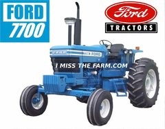 FORD 7700 (OPEN STATION) TEE SHIRT