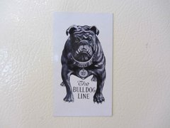"AVERY BULLDOG ""TEETH TALK"" LOGO Fridge/toolbox magnet"