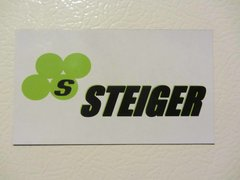 STEIGER LOGO Fridge/toolbox magnet