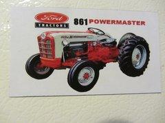 FORD 861 Fridge/toolbox magnet