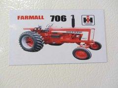 FARMALL 706 Fridge/toolbox magnet
