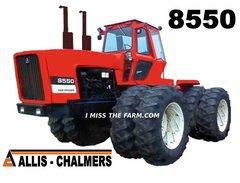 ALLIS CHALMERS 8550 Tractor tee shirt