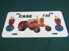CASE 730 LICENSE PLATE