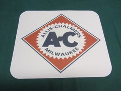 ALLIS CHALMERS DIAMOND LOGO MOUSEPAD