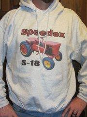 SPEEDEX S18 HOODED SWEATSHIRT