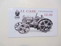 CASE 12-20 CROSSMOTOR Fridge/toolbox magnet