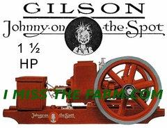 GILSON 1 1/2 HP ENGINE TEE SHIRT