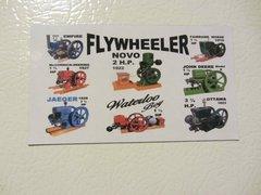 FLYWHEELER Fridge/toolbox magnet