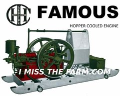 IHC FAMOUS HOPPER COOLED ENGINE TEE SHIRT