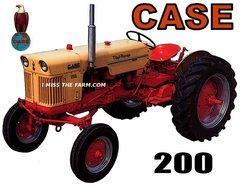 CASE 200 TEE SHIRT