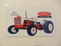 FORD 841 DIESEL Fridge/toolbox magnet