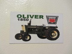 OLIVER 1850 Fridge/toolbox magnet