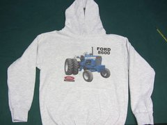 FORD 8600 (WITH DUALS) HOODED SWEATSHIRT