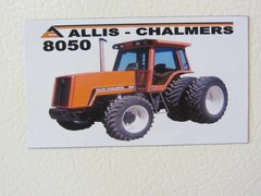 ALLIS CHALMERS 8050 Fridge/toolbox magnet