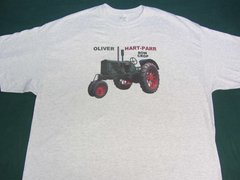 OLIVER HART PARR Row Crop Tractor Tee Shirt