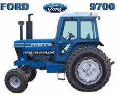 FORD 9700 HOODED SWEATSHIRT