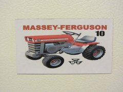 MASSEY FERGUSON 10 Fridge/toolbox magnet