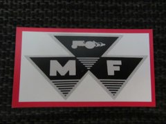MASSEY FERGUSON LOGO Fridge/toolbox magnet