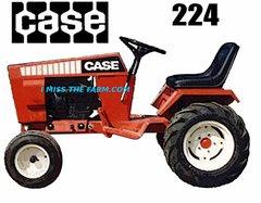 CASE 224 (NO DECK) TEE SHIRT