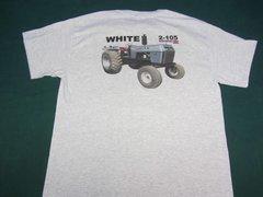 WHITE 2-105 TEE SHIRT