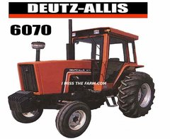 DEUTZ-ALLIS 6070 Tractor tee shirt