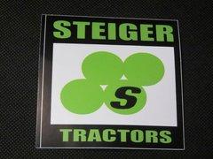 STEIGER TRACTORS LOGO Bumper sticker