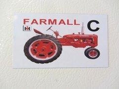 FARMALL C Fridge/toolbox magnet