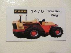 CASE 1470 Fridge/toolbox magnet