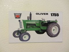 OLIVER 1755 OPEN STATION Fridge/toolbox magnet