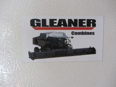 GLEANER COMBINES Fridge/toolbox magnet