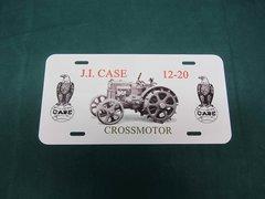 CASE 12-20 CROSSMOTOR LICENSE PLATE