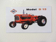 ALLIS CHALMERS D15 Fridge/toolbox magnet