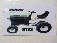 BOLENS HT23 Fridge/toolbox magnet