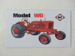 ALLIS CHALMERS WD WF Fridge/toolbox magnet