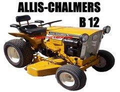 ALLIS CHALMERS B12 KEYCHAIN
