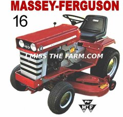 MASSEY FERGUSON 16 TEE SHIRT