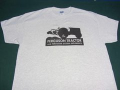 FERGUSON TRACTORS LOGO TEE SHIRT