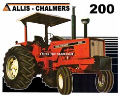 ALLIS CHALMERS 200 2 POST TEE SHIRT