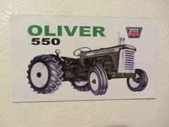 OLIVER 550 (IMAGE #2) Fridge/toolbox magnet